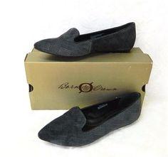 Born Samella Plaid Velvet Flats 10/42 M Gray Party Fun Dressy Wear w/Slacks #Born #BalletFlats #Party