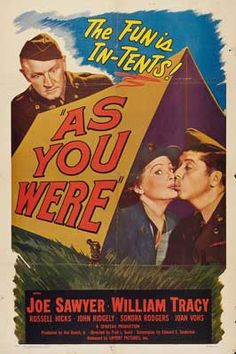 1951 movie posters | As You Were Movie Posters From Movie Poster Shop