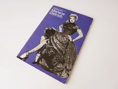 Vintage Ratgeber & Sachbücher - Marlene Dietrich - Wolfgang Noa 1975 - DDR - ein Designerstück von EveryDress bei DaWanda
