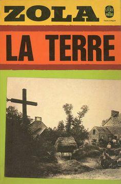 La terre, published by Le Livre de Poche, Paris, 1971. Design: Atelier Pierre Faucheux. Photograph: Jean Vigne