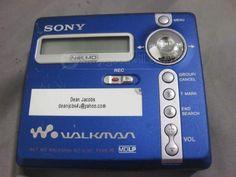 Sony Walkman MZ-N707 Mini Disc Player