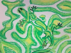 Neat art lesson that integrate science. Students explore the concept of camouflage. Great for second and third grade.