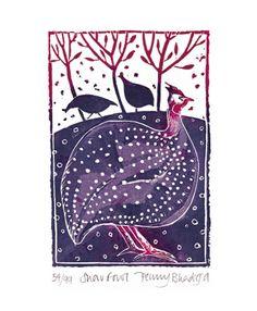 Snow Fowl, Penny Bhadiga