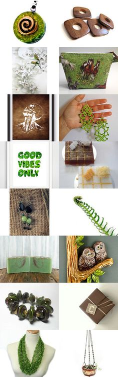 Good vibes only by Loredana on Etsy--Pinned+with+TreasuryPin.com