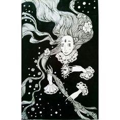 "3 Graphic Work.Mermaids ""La Sirena"" #Nymkalkh  2015 Ink F/liner . . . . . . . . . . #illustration#drawing#sketching#onesketchaday#instadrawing#artstagram#awesomeartist#instaartist#artist_4_shoutout#instaart#magicgallery#artistoninstagram#artoninstagram#darkart#brokenhearted#talentedpeopleinc#illustrationfridayartblog#sketchaday#drawaday#ilustración#그림#fineliner#mermaid#lasirena#graphic#graphicart by nymka.lkh"