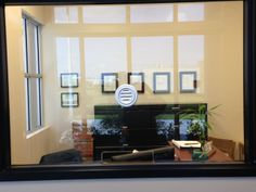 Transaction window with Speak thru and transaction cut out by Glass Doctor of Miami