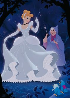 Cinderella, I remember going to see her all dressed up and it being the high light of my life <3 (well then)