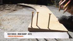 Self Build - Skate Scoot Ramp Kit - Simple & Fast Build - CNC Machined Birch Mini Halfpipe Ramp. Skateboard Room, Skateboard Ramps, Skate Rail, Bmx Ramps, Backyard Skatepark, Mini Ramp, Skate Photos, Old School Skateboards, Mini Skate