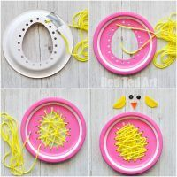 Paper Plate Crafts 299559812712725907 - Paper Plate Chicks – this paper plate sewing craft is SO CUTE for Easter. Perfect fine motor skill activity for preschoolers and simply the most adorable Paper Plate Chick Craft! Paper Plate Crafts, Paper Crafts For Kids, Preschool Crafts, Paper Plates, Diy Paper, Easter Crafts For Preschoolers, Sewing Projects For Kids, Sewing For Kids, Toddler Gifts