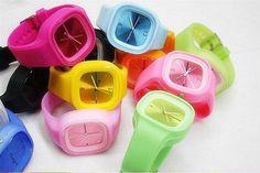relojes de silicona variedad de colores - Sentmenat