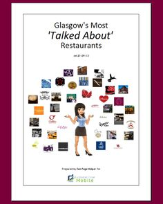 Glasgows most talked about restaurants - like the hit parade for restaurants!  Full top 50!
