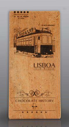 Lisboa  | Chocolate Negro 48% Cacau 125 g