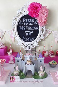 Candy bar temática: Princesas