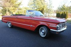 1963 Mercury Comet S-22 Convertible. Learned to drive in a car exactly like this one.