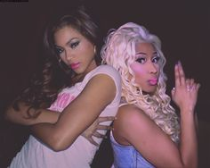 King Beyoncé & King Nicki Minaj