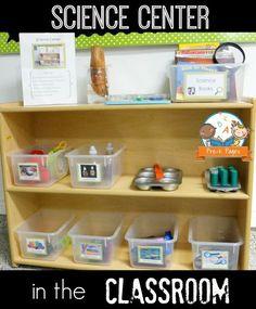 Classroom Science Center in Pre-K and Kindergarten