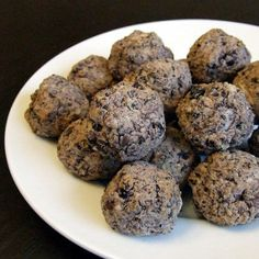 Black Bean Meatballs, gluten free side dish, gluten free side dish recipe, easy side dish, easy side dish recipe