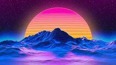 HD wallpaper: OutRun, vaporwave