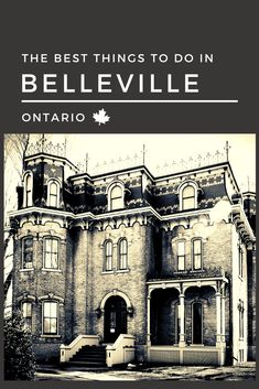 If you are visiting Belleville for the first time, or are wondering about what fun things you can do in your own backyard, check out these great ideas! Canadian Passport, Canadian Travel, Canadian Rockies, Belleville Ontario, Travel Around The World, Around The Worlds, Ontario Travel, Riverside Park