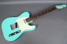 Fender Guitars, American Standard, Sea Foam, Musica