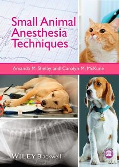 Veterinary E-Books: Small Animal Anesthesia Techniques