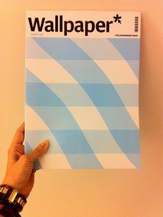 Wallpaper magazine cover #colour #pattern