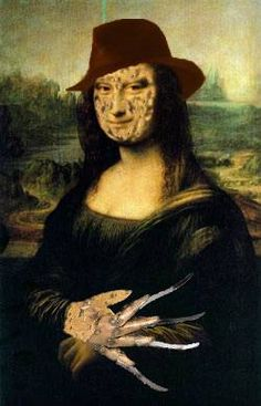 FREDDY Mona Lisaaaaargghhh