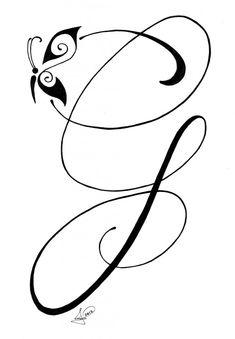 Letter G Pen & Ink More