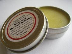 Medicinal Herbal Lip Balm: For the Treatment of Cold Sores