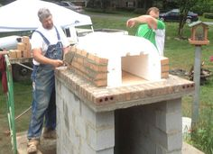 BrickWood Ovens - Shiley Family Wood Fired Brick Pizza Oven