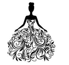 Silhouette Illustrations and Clipart. Silhouette royalty free illustrations, and drawings available to search from thousands of stock vector EPS clip art graphic designers. Silhouette Cameo, Dress Silhouette, Woman Silhouette, Silhouette Vector, Fairy Silhouette, Silhouette Pictures, Princess Silhouette, Flower Silhouette, Couple Silhouette