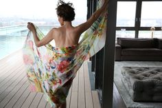 shingora silk chiffon shawl summer 13