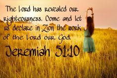 Jeremiah 51:10