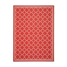 Allover Trellis Indoor/Outdoor Rug | Ballard Designs