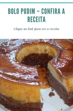 Pudding Cake - Check out the Recipe - recipes food - Pudding Cake, Pudding Recipe, Pasta, Portuguese Recipes, Cake Pops, Coco, Mousse, French Toast, Cheesecake
