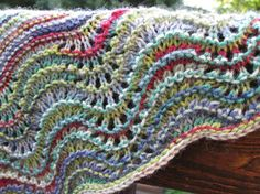 Summer Garden Birthday Shawl