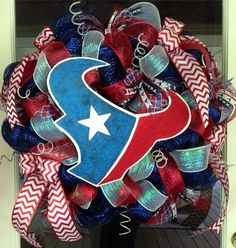 Best 25 Houston Texans Wreath Ideas On Pinterest Texans
