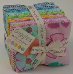 Giggles Layer fat quarter bundle   REDUCED 30% by carmenjass