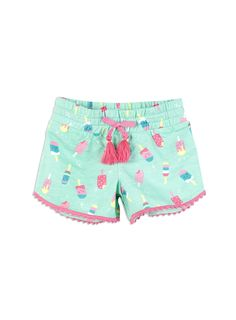 Buy Denim Scallop Shorts (3mths-6yrs) online today at Next: United ...