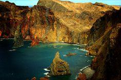 Caniçal, Ilha da Madeira. Crédito fotográfico: Leslie B. Jones.