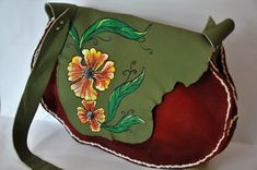 han made leather bags Leather Bags Handmade, Saddle Bags, Molle Pouches