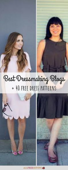 Discover amazing designers and free patterns for beginners, fashion lovers, and . - Craft and so forth - Sewing Patterns Diy Clothes Patterns, Sewing Patterns Free, Free Sewing, Free Dress Sewing Pattern, Easy Dress Pattern, Free Pattern, Skirt Pattern Free, Pattern Drafting, Free Clothes