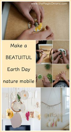 Nature Mobile :: DIY Earth Day Celebrations :: Waldorf Activities - The Magic Onions
