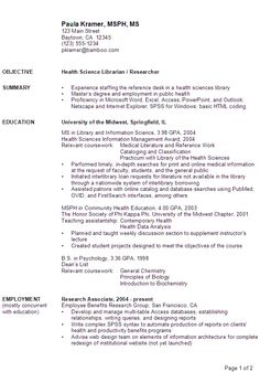 science resume examples jobs you will need to see science resume examples for guiding you to