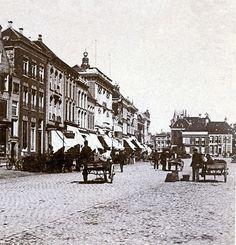 Vismarkt Groningen (jaartal: Voor 1900) - Foto's SERC
