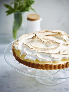 Cookie Cake Pie, Cake Cookies, Cereal Recipes, Cake Recipes, Sweet Desserts, Sweet Recipes, Meringue Cake, Sweets Cake, Savoury Cake