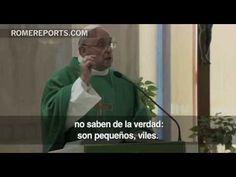 """Papa Francisco: La hipocresía en la piedad hace a las personas """"pequeñas, viles"""""""