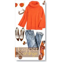 """""""Jeans and a Sweater."""" by s-elle on Polyvore"""