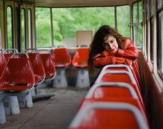 #трамвай #девушка