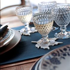 Villeroy & BochA complete collection of sparkling drinkware